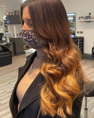 Back to when we could do beautiful  Golden Ombré's 🌞   Colour by @ivylouisehair   #hair #colour #lorealprofessionnel #longhair #goldenombré #coltishall #hairdressers #norwichsalon