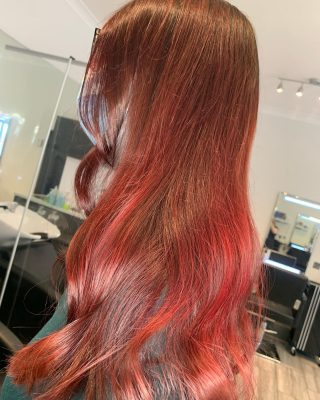 💋Red Red💋  Colour & Cut by @charlotte_louise_hair   #colourchange #redhair #lorealprofessionnel #transformationtuesday #hairdressing #norwichsalon #norwichsmallbusiness #coltishallhairsalon