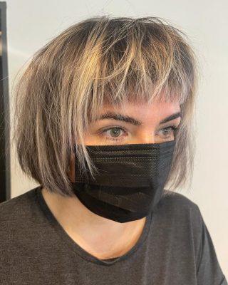 ▫️Textured Bob ▪️  Cut By @kayley_glen   #hairdressing #texture #scissorwork #norwichsalon #newhaircut #fghsaloncoltishall #fghsalon